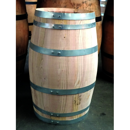 Houten regenton kastanje 110 liter